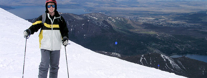 Ski à Bariloche, en Argentine