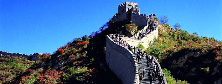 Montée de la Grande Muraille de Chine