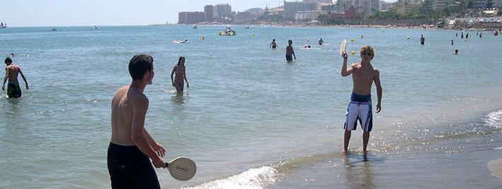 Après-midi détente à la plage de Benalmadena