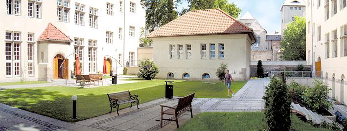 Campus de notre école à Berlin