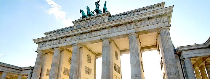 La porte de Brandenbourg à Berlin