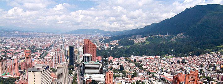 Vue sur Bogota