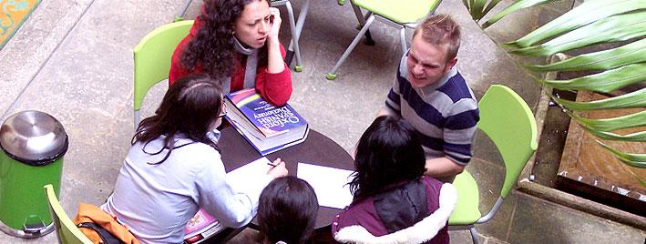 Cours d'espagnol en extérieur à Bogota