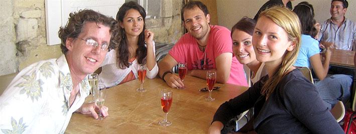 Dégustation de vins à Bordeaux