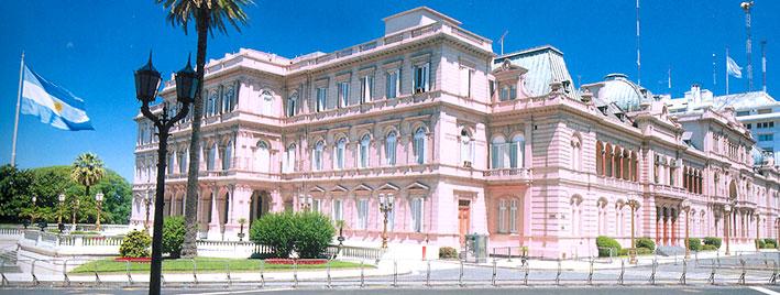 La Casa Rosada à Buenos Aires