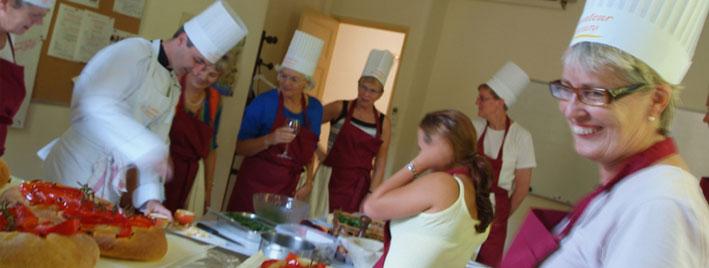 Fran ais et gastronomie aix en provence france - Cours de cuisine aix en provence ...
