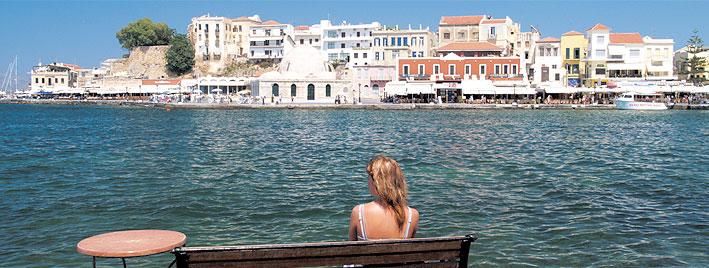 Soleil et mer en Crète