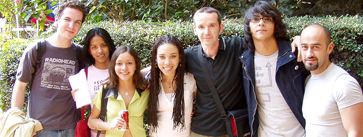 Étudiants en séjour à Cuernavaca