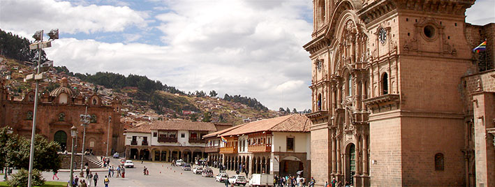 La Plaza De Armas à Cuzco