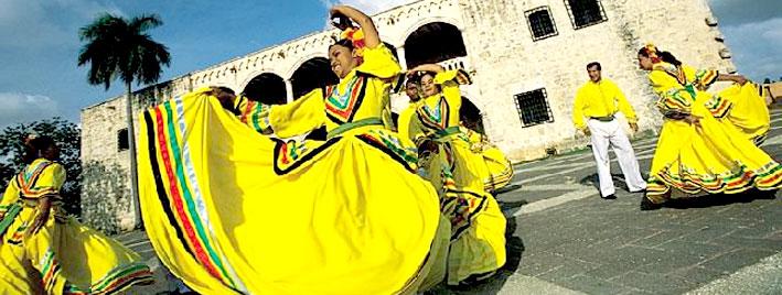 Merengue et bachata à Saint-Domingue
