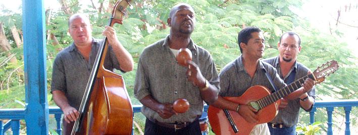 Cours de musique à Trinidad
