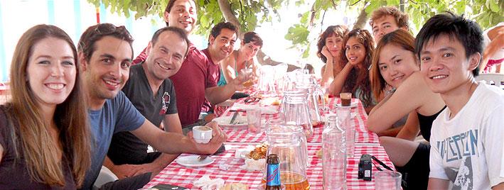Repas espagnol à Grenade