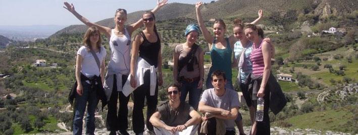 Randonnée et espagnol à Grenade