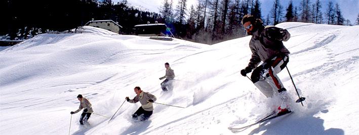 Sur les pistes de ski de Kitzbühel