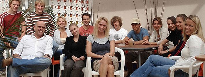 Classe d'espagnol à Las Palmas