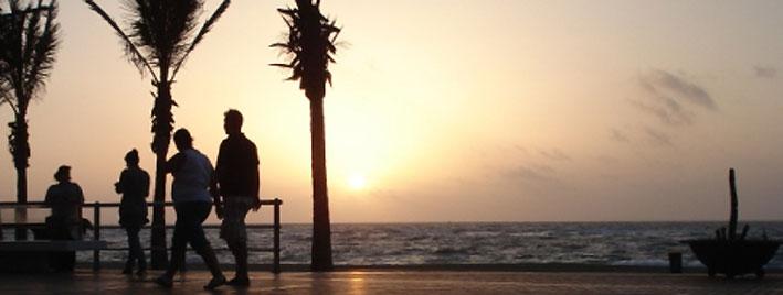 Coucher de soleil à Las Palmas