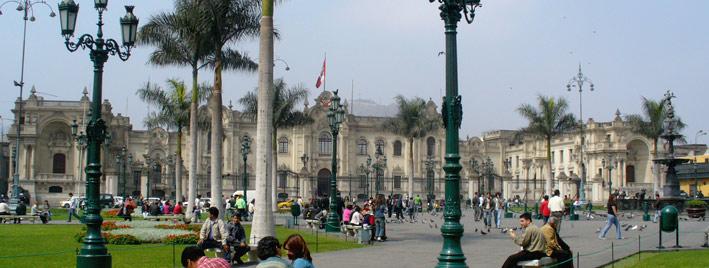 Centre historique de Lima, au Pérou