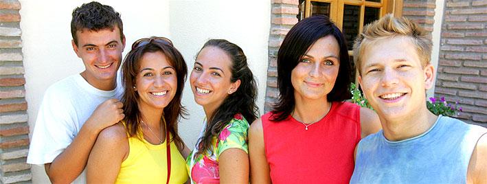 Étudiants en séjour à Malaga