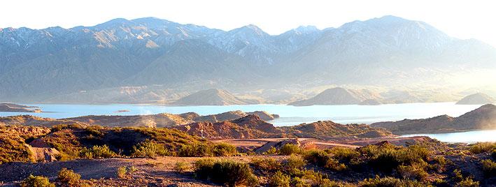 Paysage montagneux à Mendoza