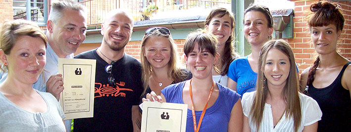 Étudiants en séjour linguistique à Munich