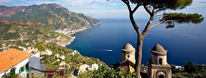 Ravello sur la côte amalfitaine près de Naples