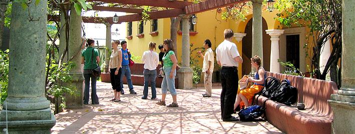 Fin des cours à l'école de langues d'Oaxaca