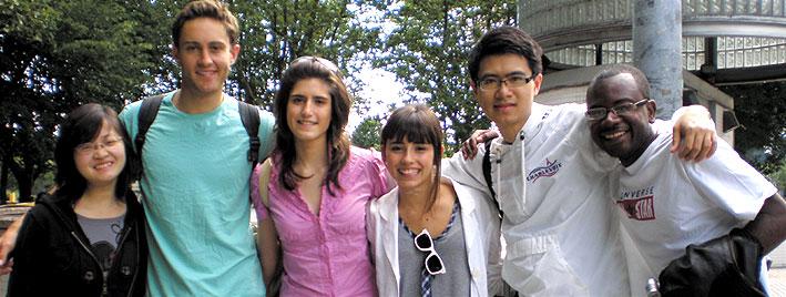 Étudiants en séjour linguistique d'espagnol à Pampelune