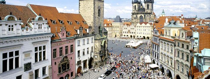 Place de la Vieille-Ville à Prague