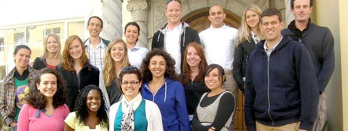 Groupe d'étudiants en séjour linguistique à Quito