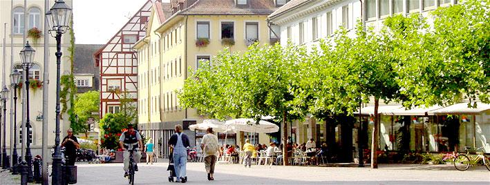 Centre-ville de Radolfzell