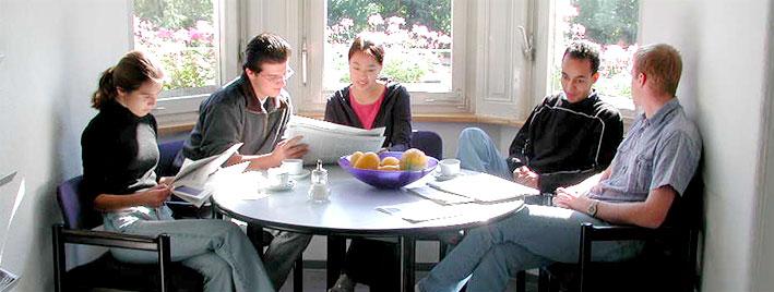 Séance de révision pour les étudiants en séjour linguistique à Radolfzell