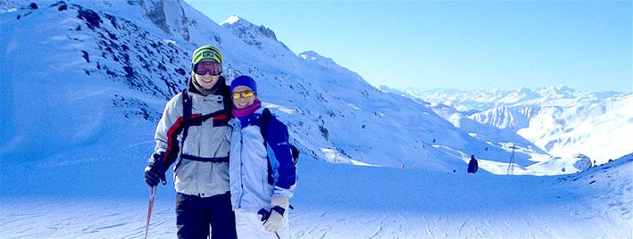 Allemand et ski à Radolfzell