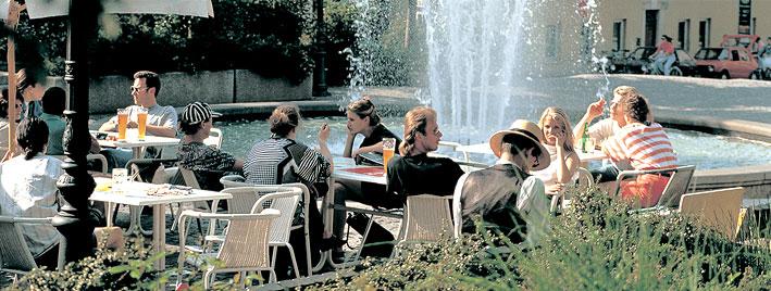 Étudiants en séjour à Ratisbonne