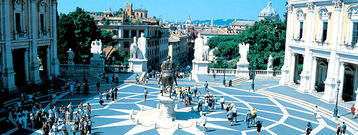 Piazza del Campidoglio à Rome