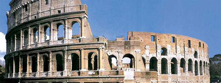 Le Colisée à Rome, en Italie
