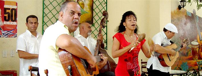 Concert de musique espagnole à Santiago de Cuba