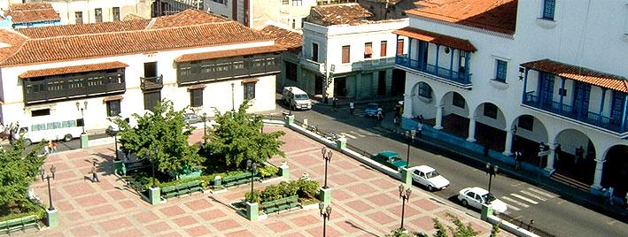 Place principale de Santiago de Cuba