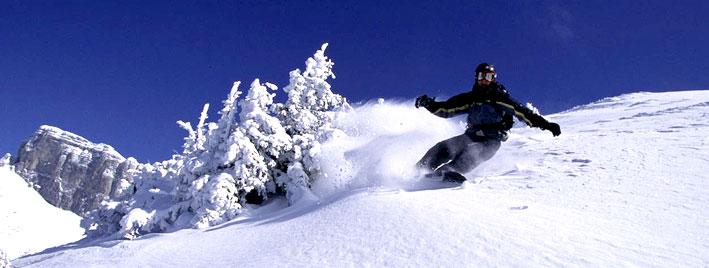 Français et ski à Montreux