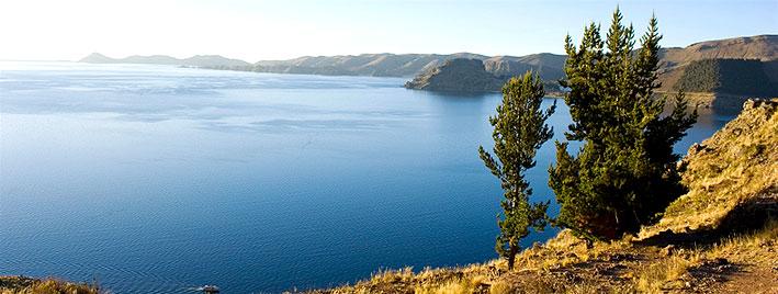 Lac Titicaca à proximité de Sucre, en Bolivie