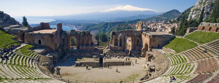 Cours d'italien à Taormine