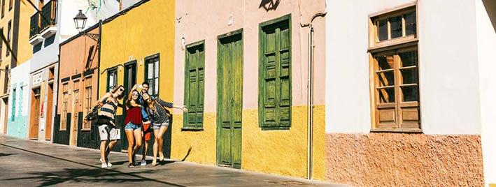 Étudiants en séjour à la découverte de Tenerife