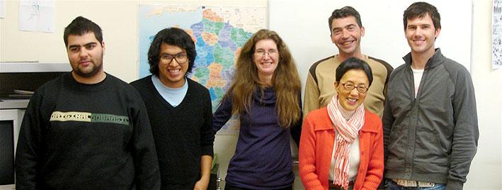 Étudiants en séjour à Toulouse