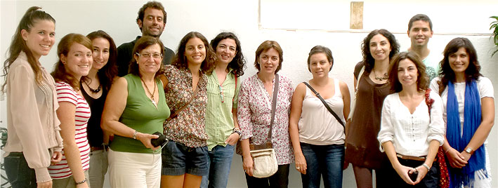 Classe de portugais à Faro