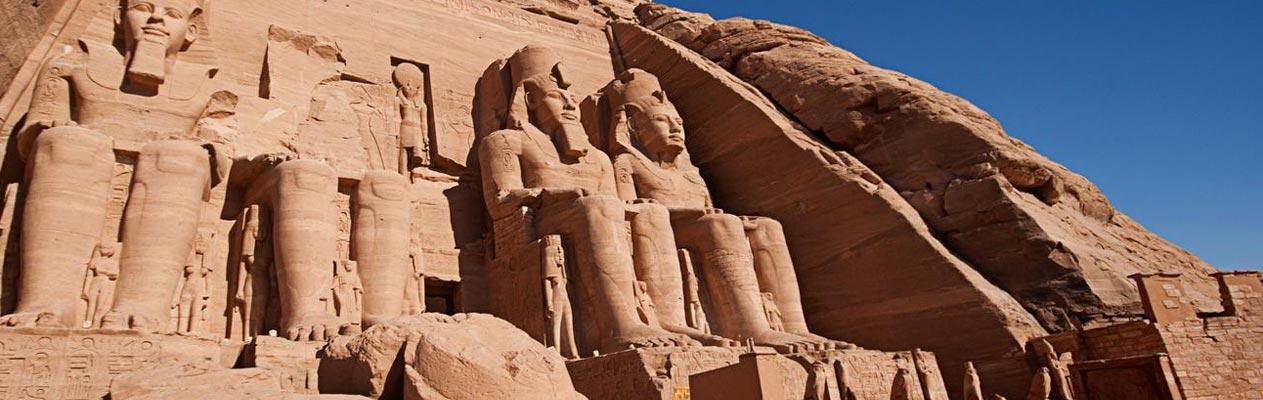 Temples d'Abou Simbel, Égypte