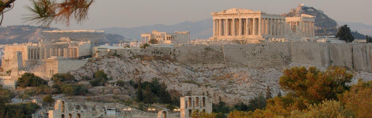 La Parthénon à Athènes