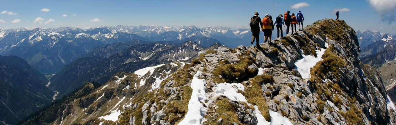 Apprendre l'allemand et randonnée dans les Alpes autrichiennes
