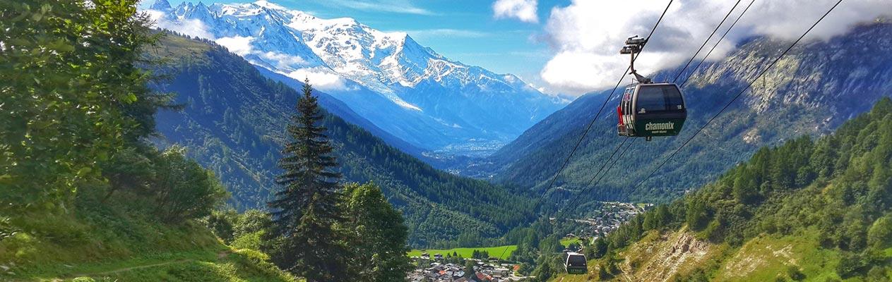 Téléphérique de Chamonix, France