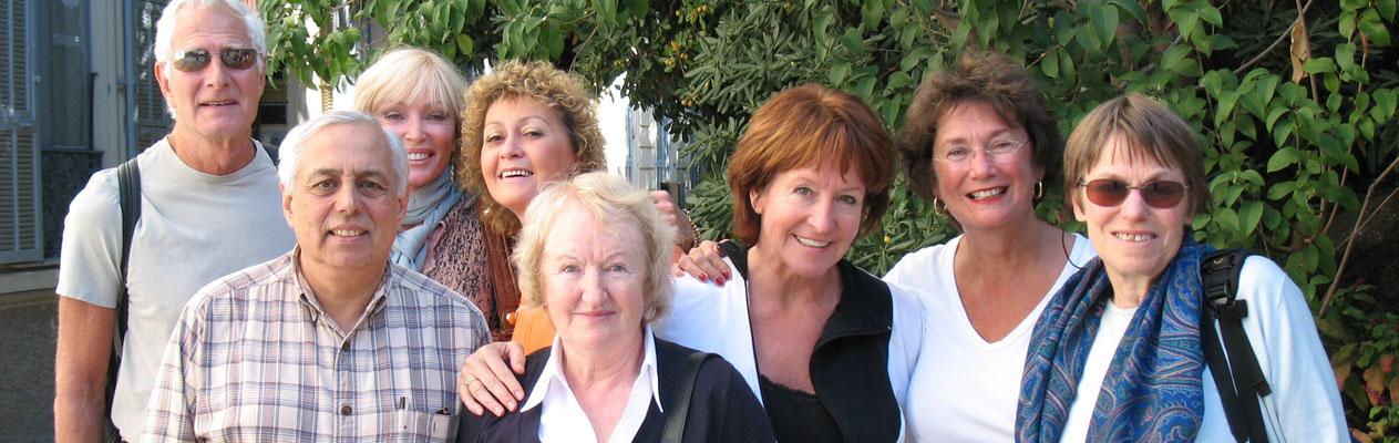 Séjours linguistiques Club 50+ en français à Nice