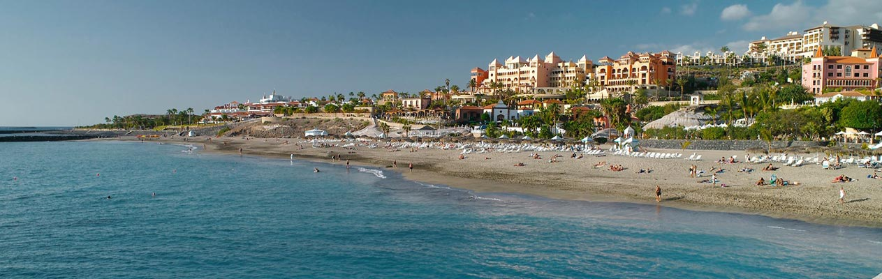 Playa del Duque à Costa Adeje, Ténérife
