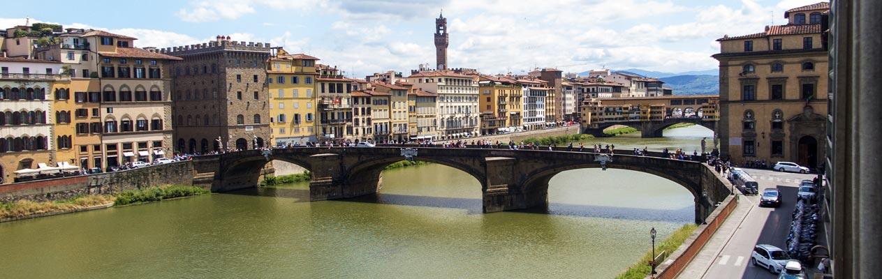 Vue de Florence depuis notre école d'italien